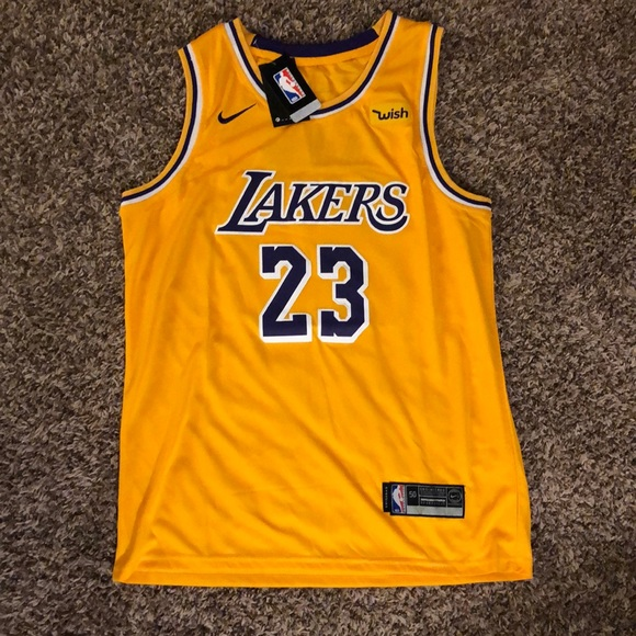 premium selection 7a07d 44666 #23 LeBron James Lakers Jersey NWT